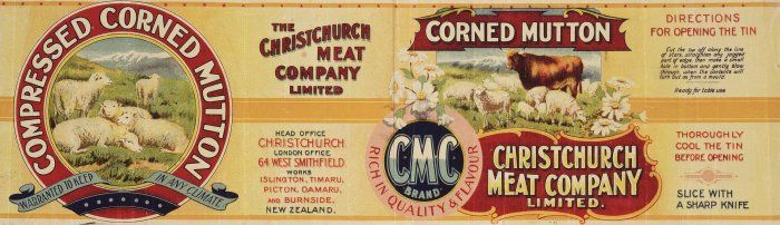 Christchurch_Meat_Company_Limited_Compressed_corned_mutton,_warranted_to_keep_in_any_climate._Christchurch_Press_Co_Lith,_N.Z._1906-1920-